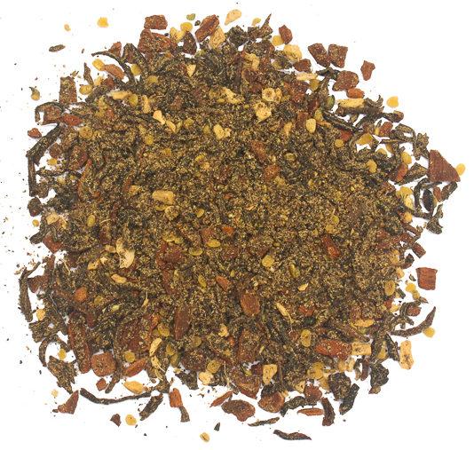 This is a black pepper chai loose leaf tea