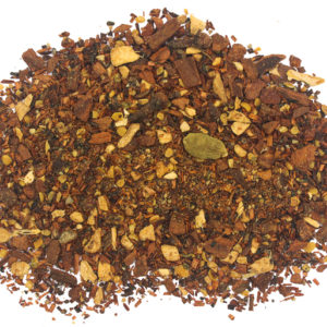 Loose leaf sweet and spicy tea of Hot Honey Chair Roo