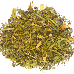 Lemon ginger tea online by Hemp Kettle Tea